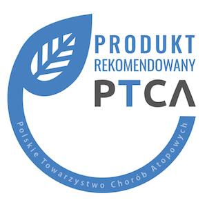 Znak rekomendacji produktowej PTCA dla Comfifast
